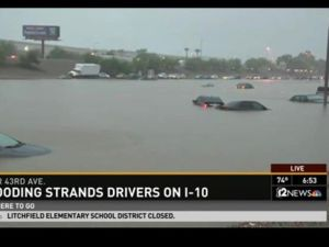 Flooding Across Nation affecting even Arizona
