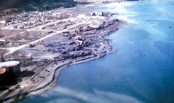 Alaska After 1964 Shaking