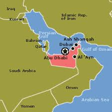 Dubai Middle East Map
