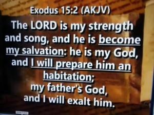 God is strength