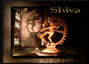 Shiva outside CERN