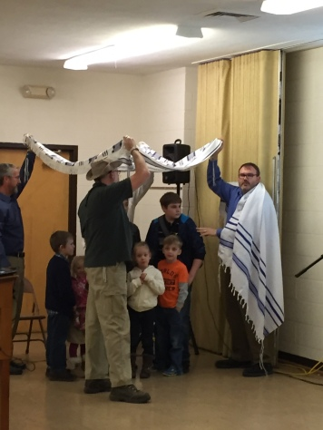 Praying over the children