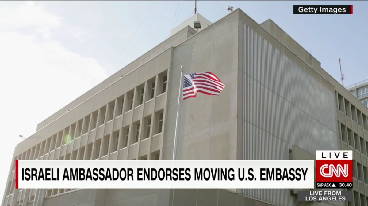 Trump pushes US Embassy move in Israel amid outcry - CNN