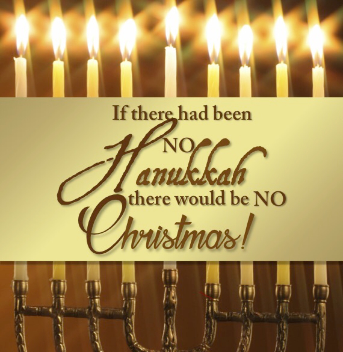 Jonathan Cahn - Live - No  Hanukah, No Christmas