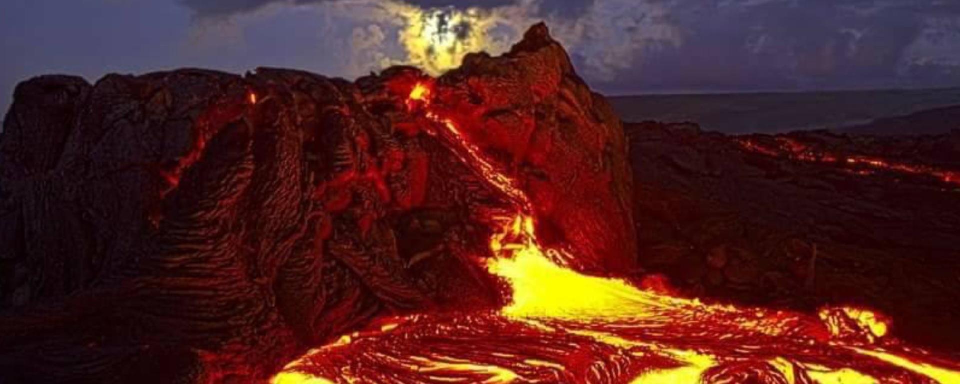 Hawaii Volcano Demon revealed  – yhebrew com……  'Hand of יהוה